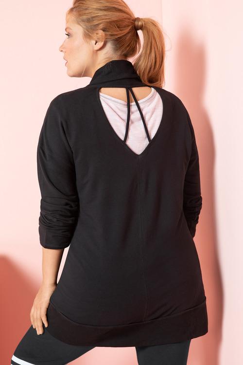 Plus Size - Sara Cut Out Jacket