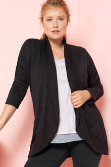 Plus Size - Sara Cut Out Jacket