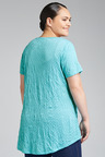 Plus Size - SARA Sara Crinkle Tee