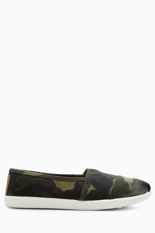 Next Camouflage Espadrilles (Older Boys)