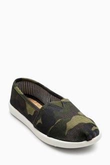 Next Camouflage Espadrilles (Older Boys) - 206619