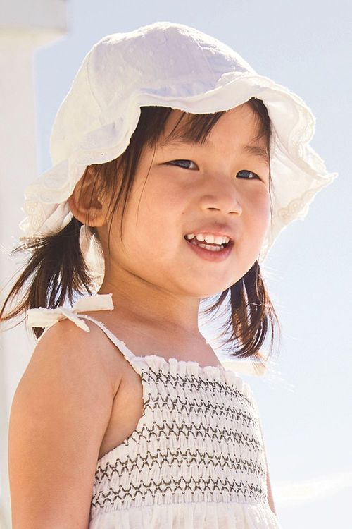 Next Broderie Hat (Younger Girls)