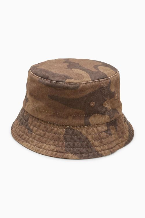 Next Camo Bucket Hat (Younger Boys)