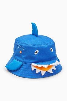 Next Shark Bucket Hat (Younger Boys)