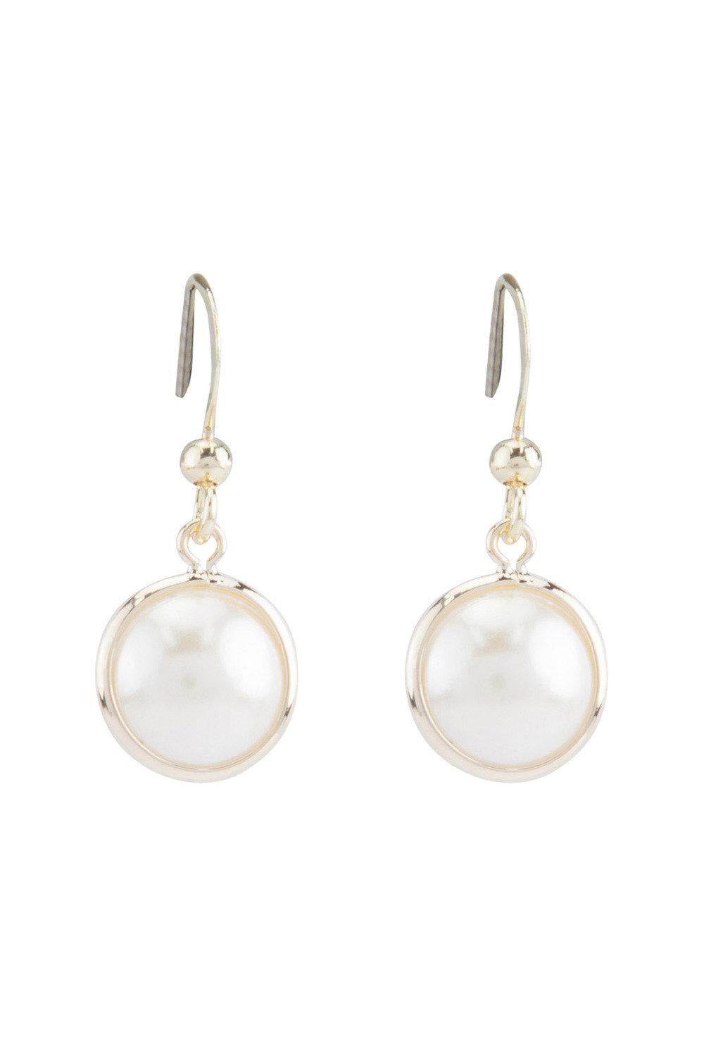 a3c69ae7a Amber Rose Orbital Pearl Earring Online | Shop EziBuy