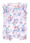 Next Floral Short Leg Rompers Four Pack (0mths-2yrs)