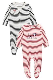 Sleepsuits Two Pack (0mths-2yrs)