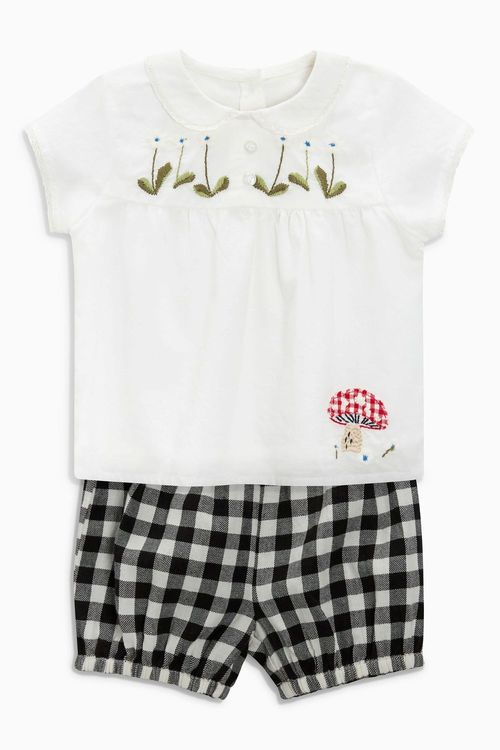 Next Bloomer And Blouse Set (0mths-2yrs)