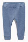 Next Blue Rib Leggings (0mths-2yrs)