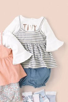 Next Cami Top And Bloomer Three Piece Set (0mths-2yrs)