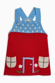 Next Knitted Pinafore (0mths-2yrs)