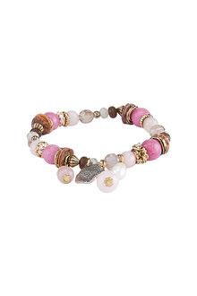 Amber Rose Charmed Stretch Bracelet