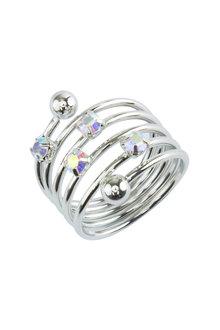 Amber Rose Constellation Finger Ring