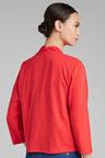 Capture Cotton Cardigan With Linen Blend Trim