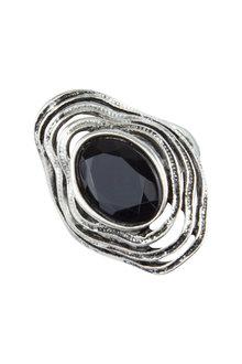 Amber Rose Wavy Stone Figer Ring