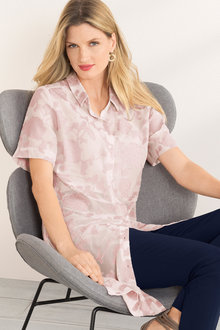 Grace Hill Burnout Shirt - 206889