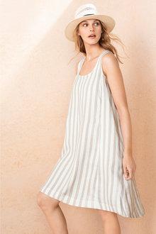 Emerge Linen Dress - 206894