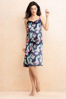 Mia Lucce Printed Nightdress - 206912