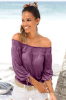Urban Shirred Tie Sleeve Top