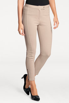 Heine Hem Zip Leggings