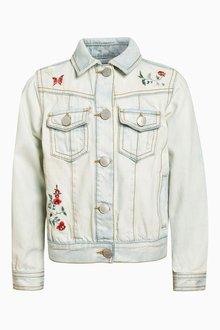 Next Embroidered Flower Jacket (3-16yrs)