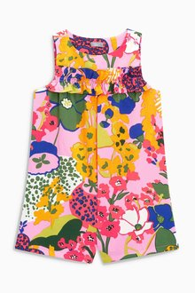 Next Printed Playsuit (3-16yrs)