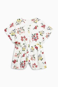 Next Printed Ruffle Playsuit (3-16yrs)