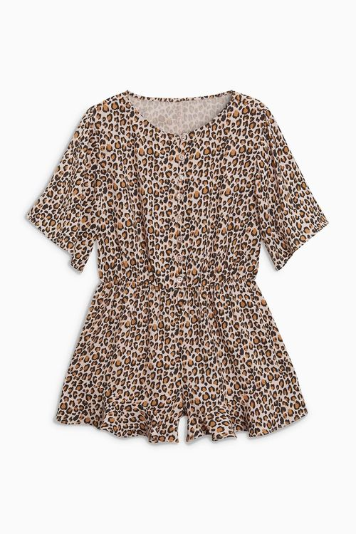 Next Print Button Playsuit (3-16yrs)