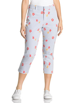 Capture Printed Stretch Capri