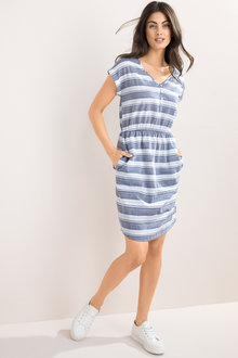 Capture Stripe Dress - 207001