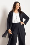 Plus Size - Sara Chiffon Jacket