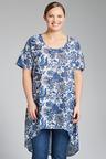 Plus Size - Sara Hi-Low Tunic