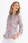 Capture Cotton Long Sleeve Detail Shirt
