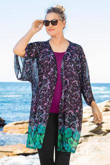 Plus Size - Sara Kimono