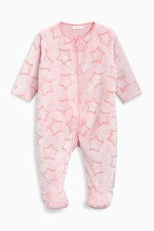 Next Star Fleece Sleepsuit (0mths-3yrs)