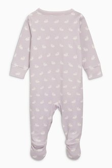 Next Bunny Sleepsuits Three Pack (0mths-2yrs)