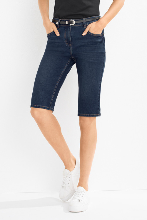 Capture Knee Length Denim Short