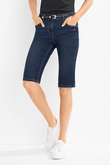 Capture Knee Length Denim Short