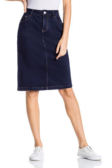 Capture Denim Skirt