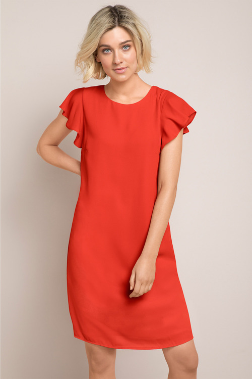 Emerge Ruffle Detail Dress