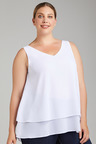 Plus Size - Sara Smart Tank