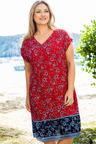 Plus Size - Sara Keyhole Dress