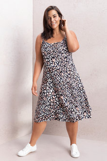 Plus Size - Sara Swing Tank Dress