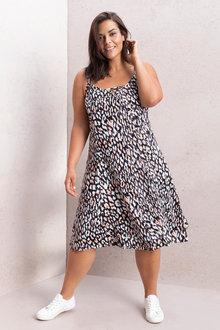 Plus Size - Sara Swing Tank Dress - 207227