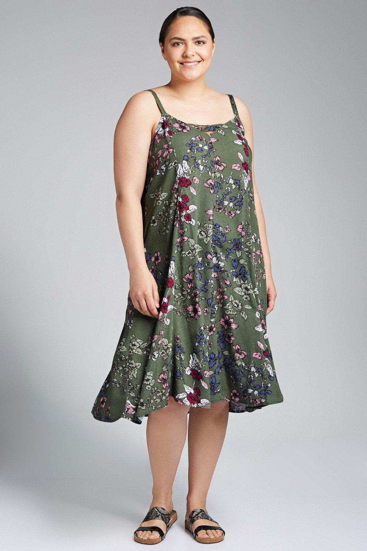 c152c756d96 Plus Size - Sara Swing Tank Dress