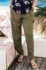 Plus Size - Sara Viscose Cargo Pant