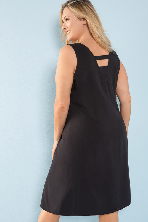 Plus Size - Sara Popover Dress