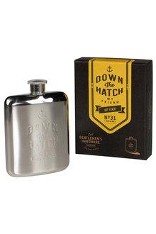 Gentlemens Hardware 177ml Hip Flask - 207235
