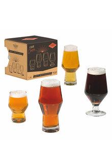Gentlemen's Hardware Craft Beer Glasses Set of Four