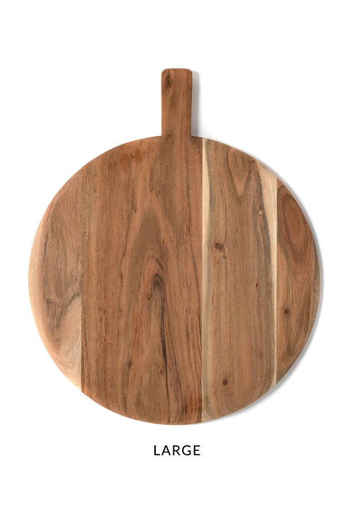 Round Timber Board